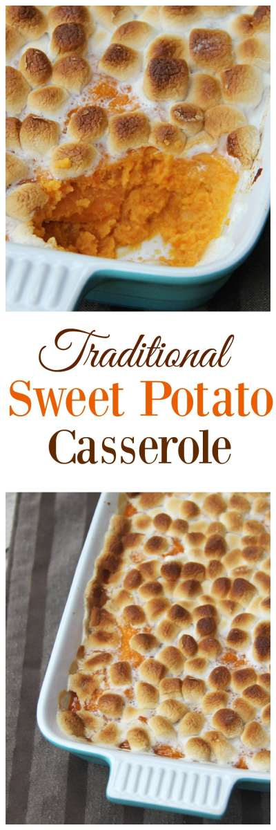 Classic Sweet Potato Casserole Recipe — Dishmaps