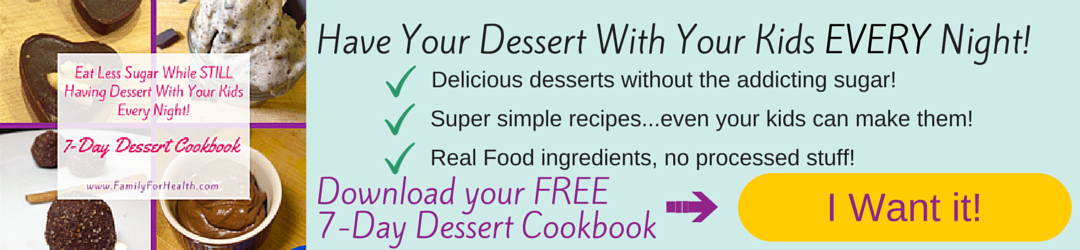 Dessert Cookbook Optin, Family For health