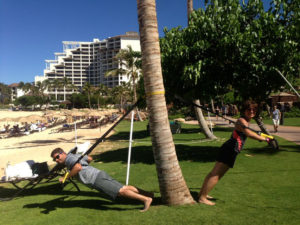 Beach Workout, Family For Health