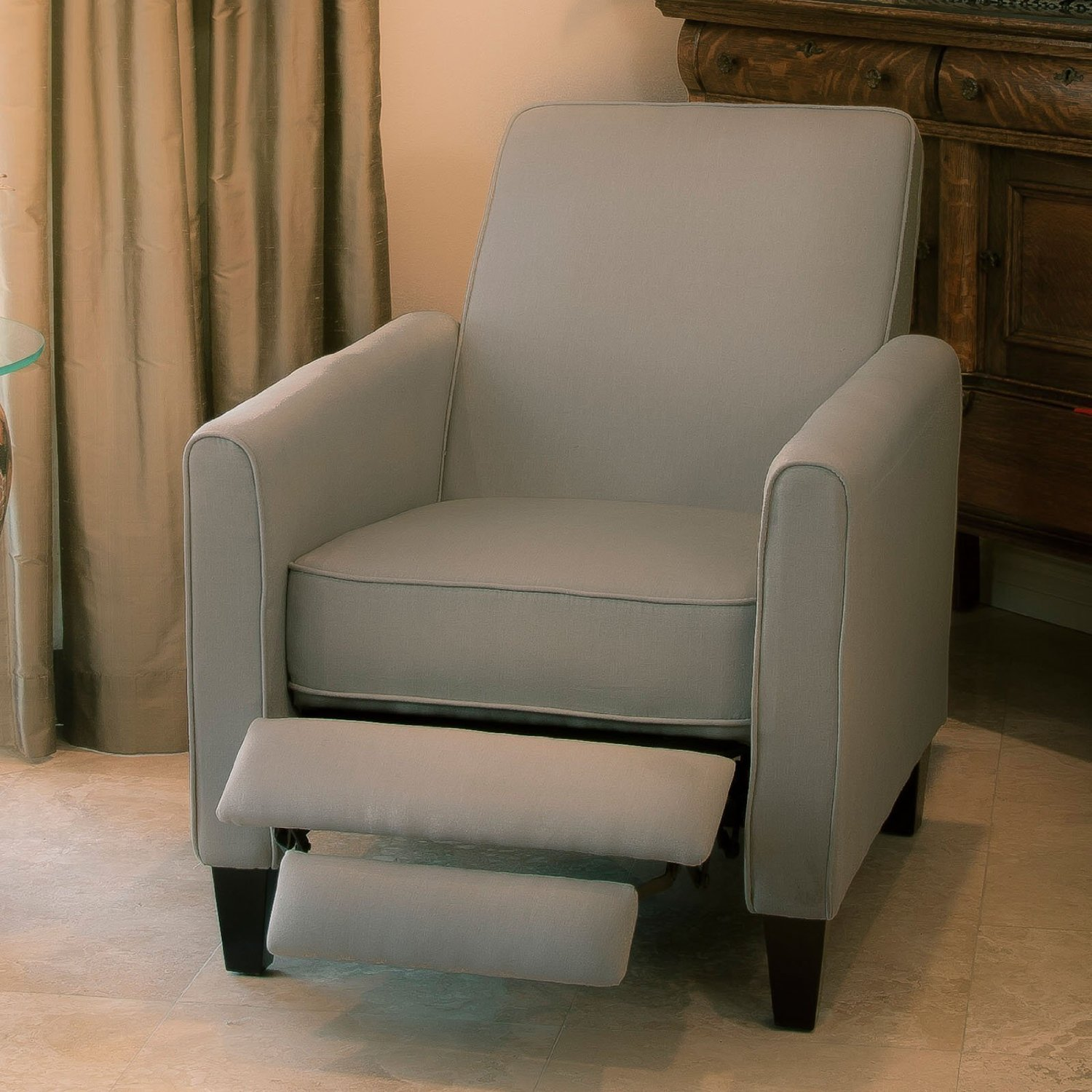 Best Reading Chair For Bad Back Davis Fabric Recliner Club Chair On Sale 145 Reg 390