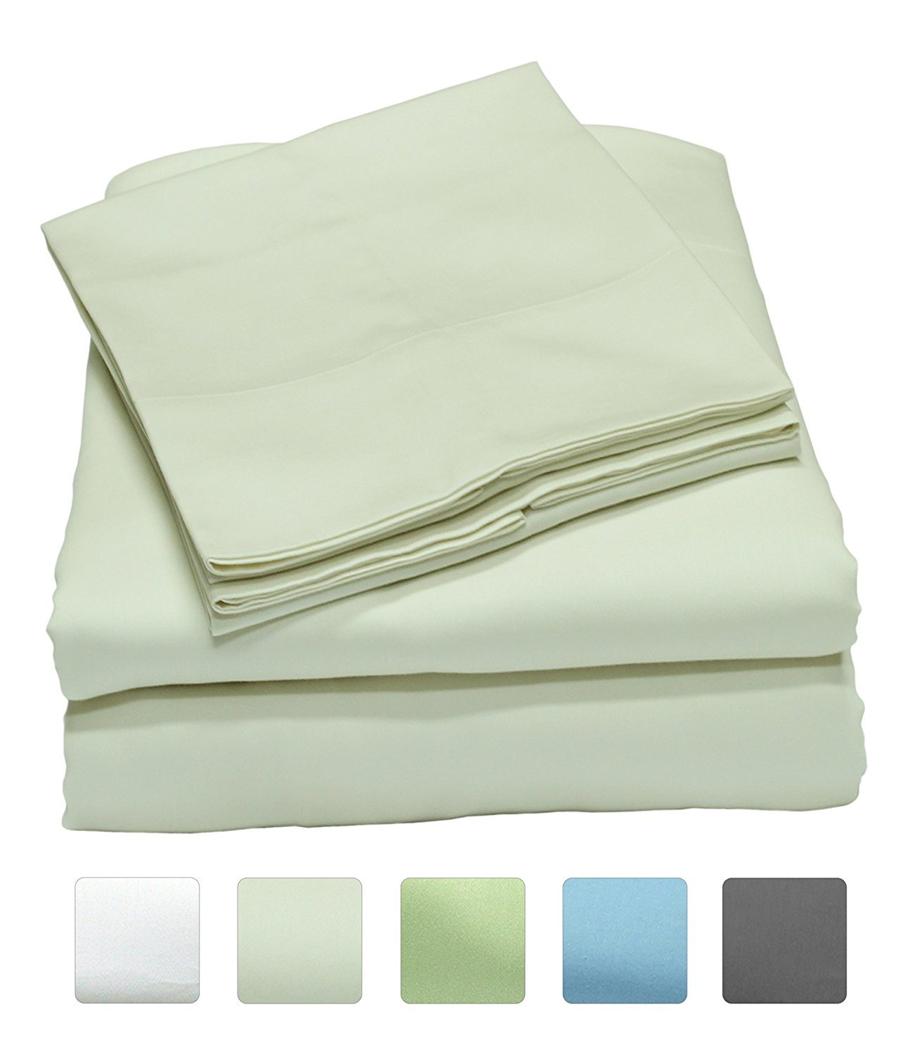 Cotton Sheets On Sale 300 Thread Count 100 Cotton Sheet Set On Sale Just 28 49