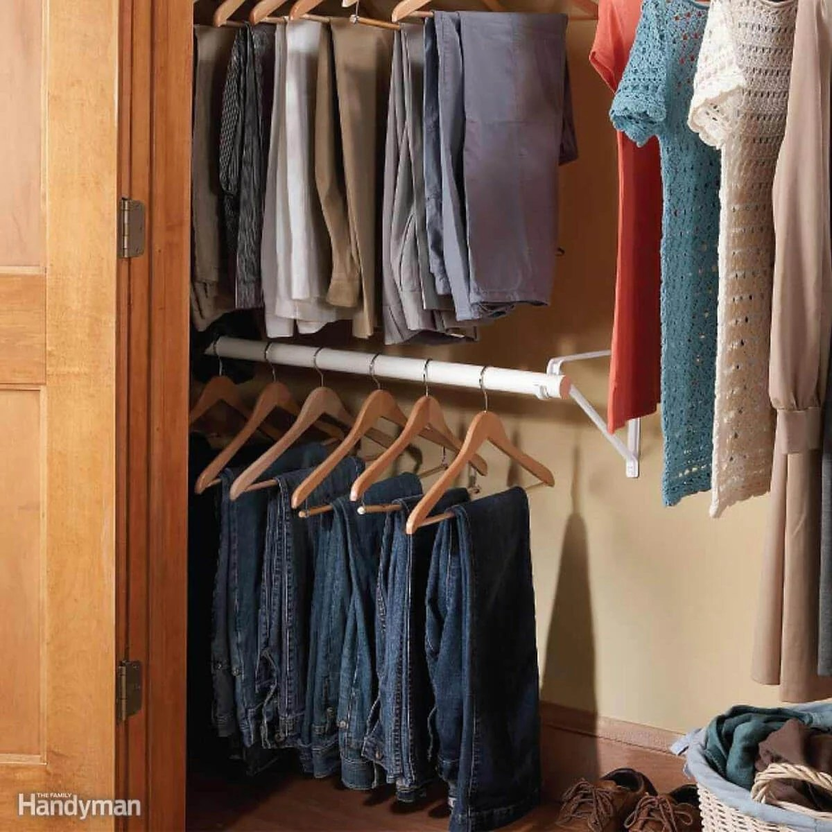 14 Awesome Closet Storage Hacks Family Handyman