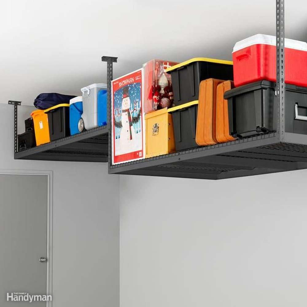 Gladiator Garage Wall Accessories 51 Brilliant Ways To Organize Your Garage The Family Handyman