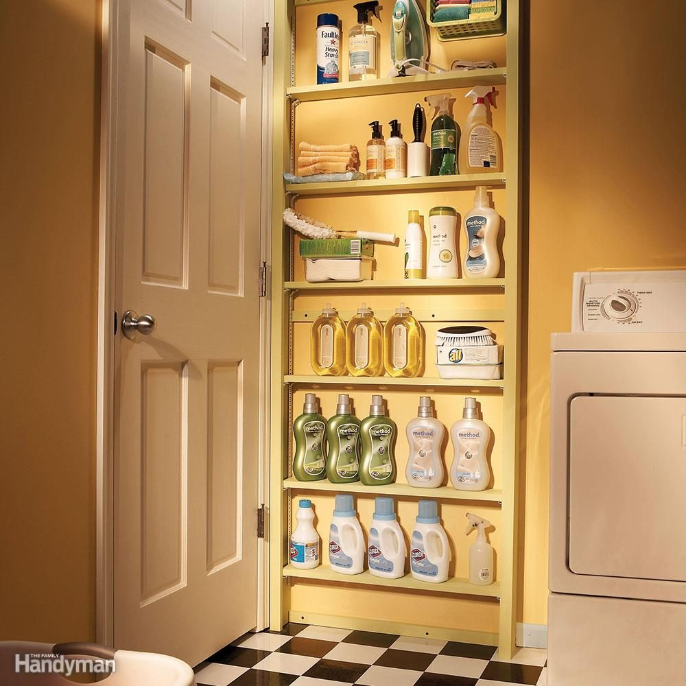 Small Space Organization 20 Small Space Laundry Room Organization Tips The Family Handyman