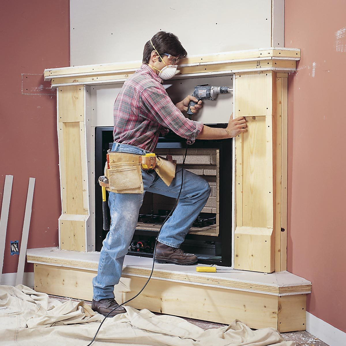 Running Gas Line To Fireplace How To Install A Gas Fireplace Diy Built In Gas Fireplace The
