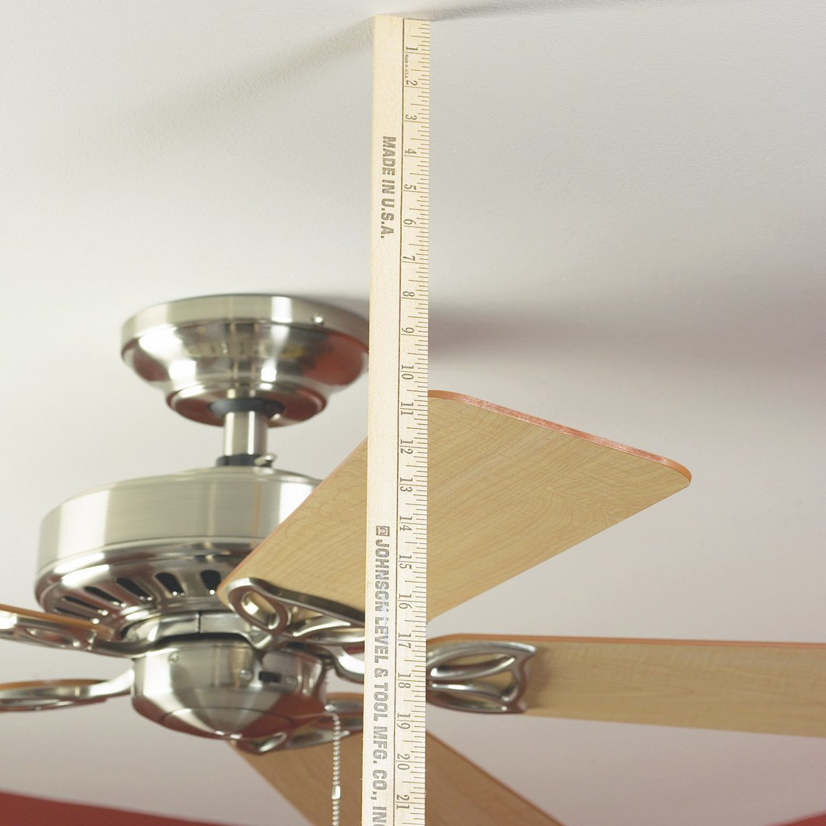 Ceiling Fan Size For Garage How To Balance A Ceiling Fan The Family Handyman