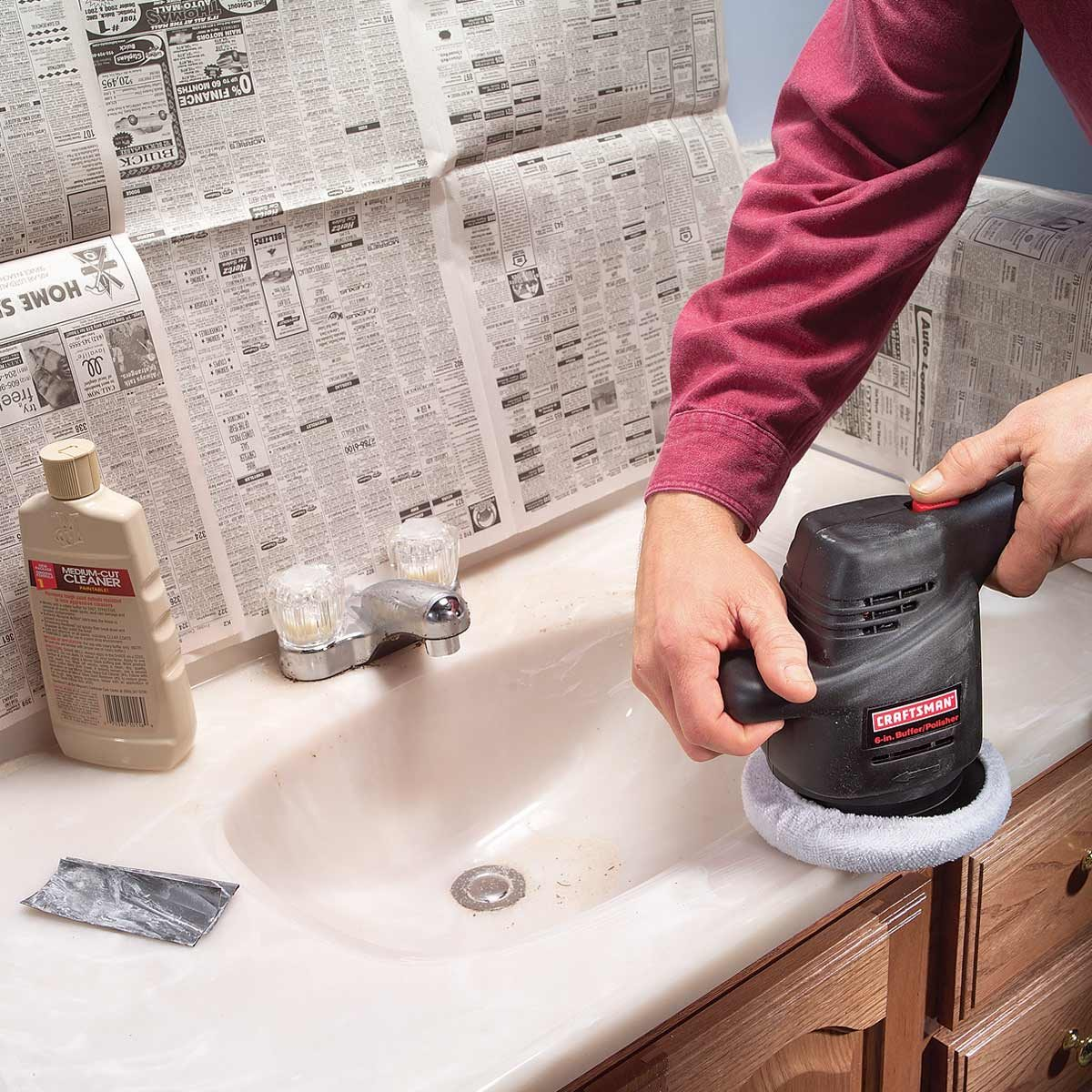 How To Remove Sharpie From Countertop How To Renew A Scratched Countertop The Family Handyman