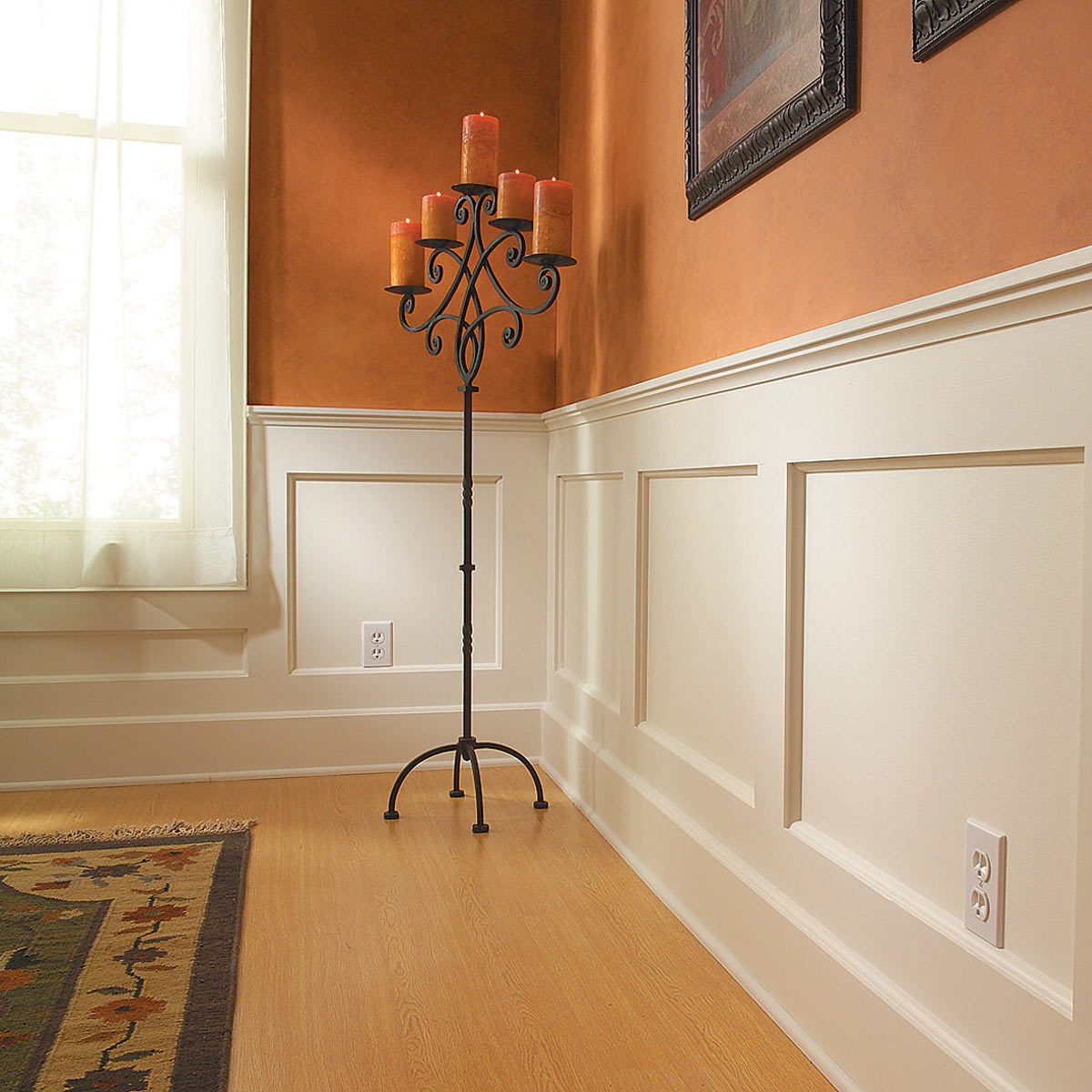 How To Build A Wainscoted Wall Diy