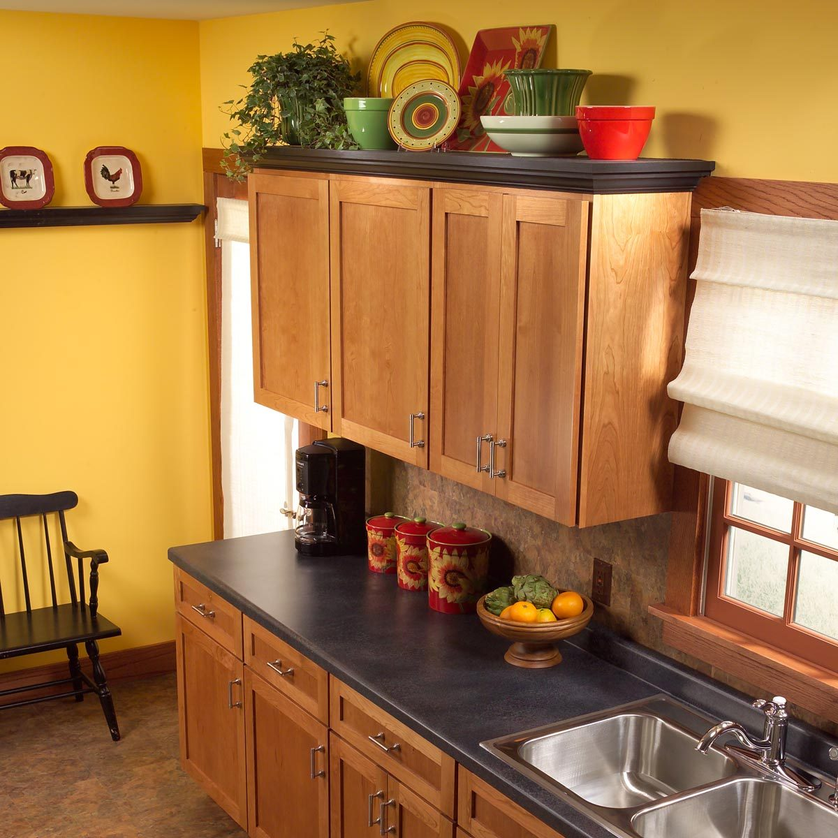 Modular Kitchen Upper Cabinets How To Add Shelves Above Kitchen Cabinets Family Handyman The