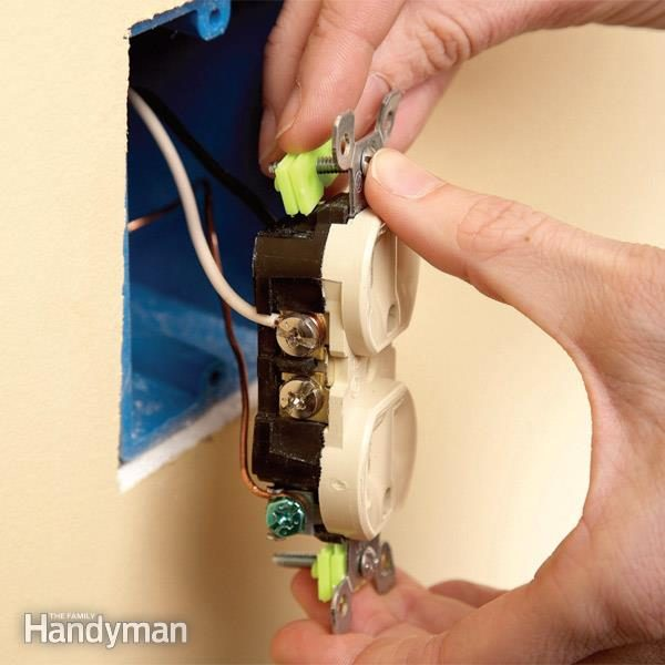 Recessed Lighting Removal Repair Electrical Outlets: Fix Loose Outlets | Family Handyman