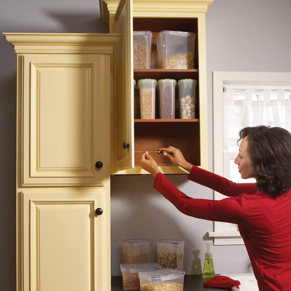 Cupboards Kitchen Home Repair How To Fix Kitchen Cabinets