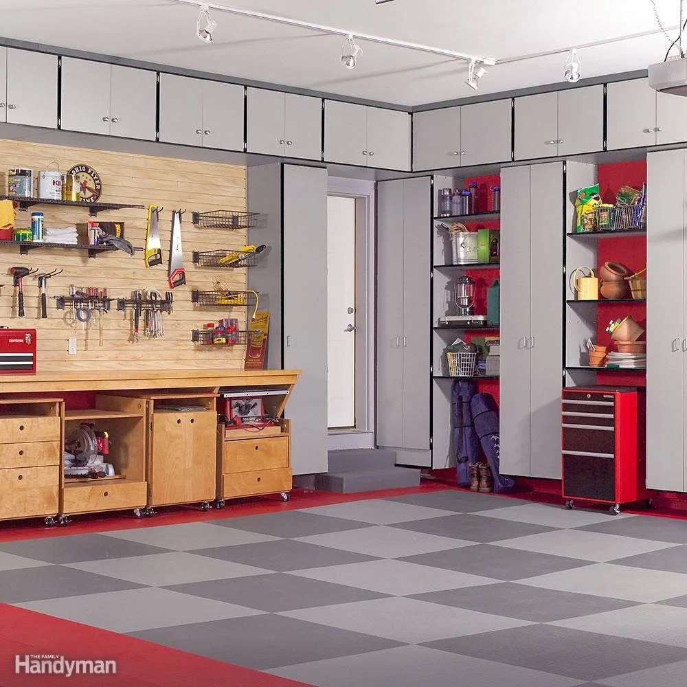 Garage Design Tips 51 Brilliant Ways To Organize Your Garage The Family Handyman