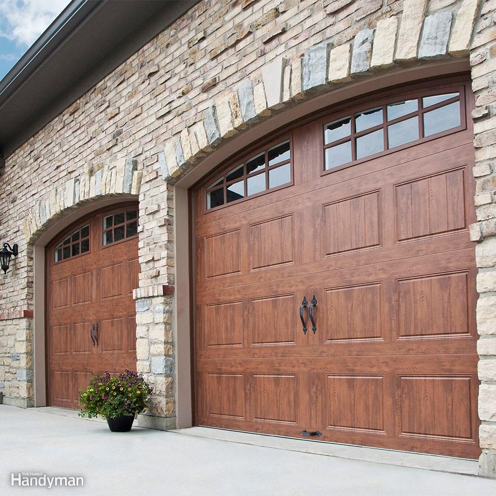 Garage Door Springs Installation Video 10 Things To Know Before Buying A Garage Door The Family Handyman