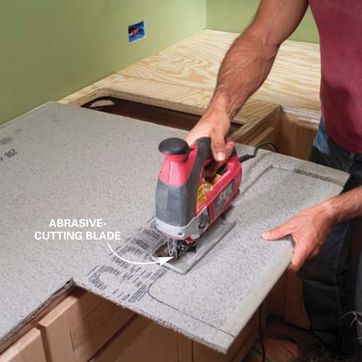 Remove Permanent Marker From Granite Countertop Installing Tile Countertops Ceramic Tile Kitchen