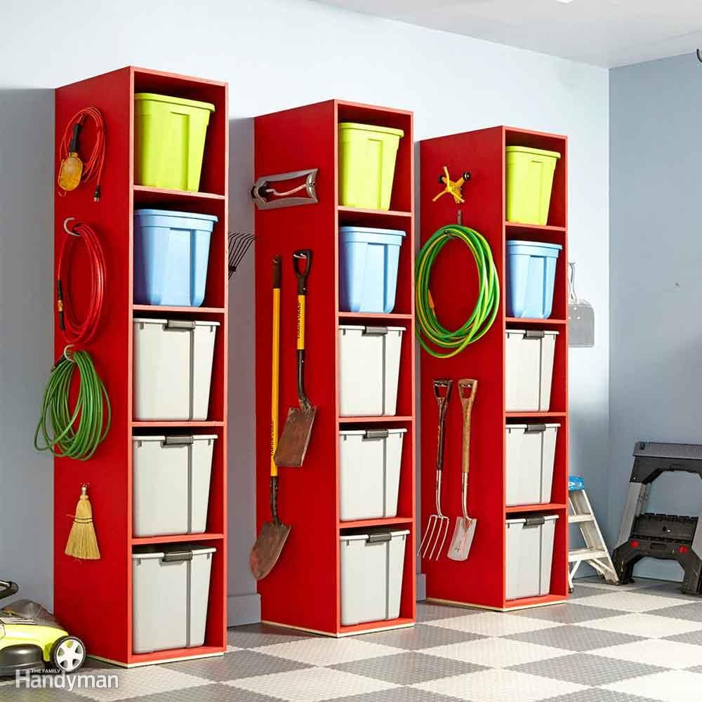 Garage Shelving Design Ideas 51 Brilliant Ways To Organize Your Garage The Family Handyman