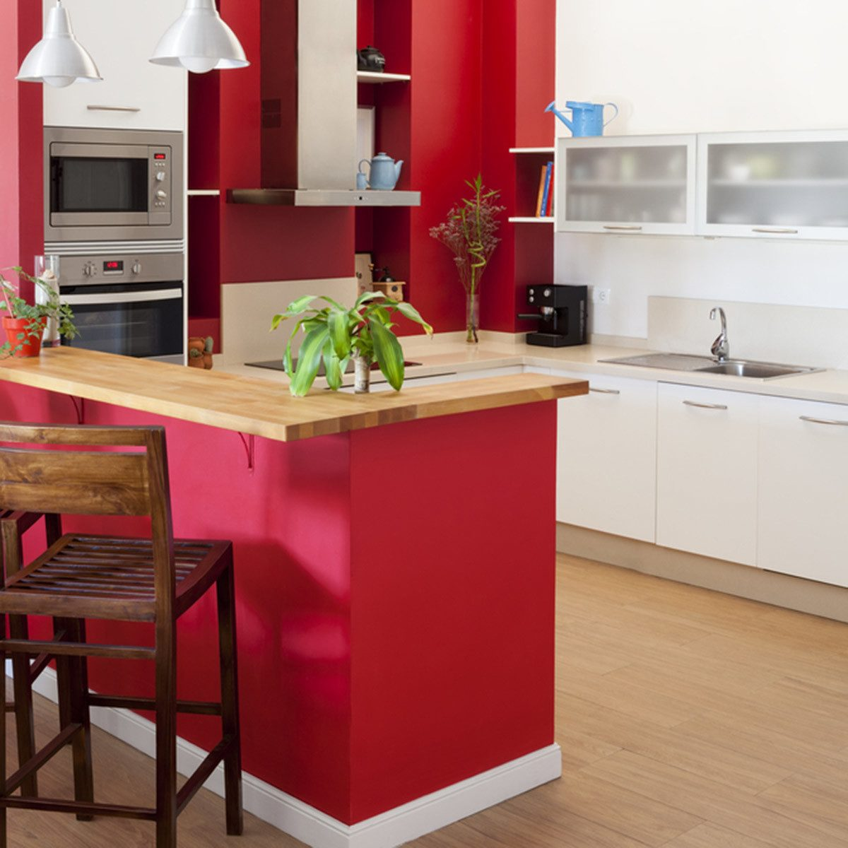 Kitchen Counter Cabinet Combinations Trending Kitchen Cabinet Colors The Family Handyman