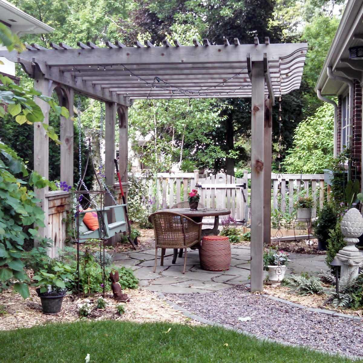 Backyard Patios Pictures 11 Amazing Stone Patios The Family Handyman