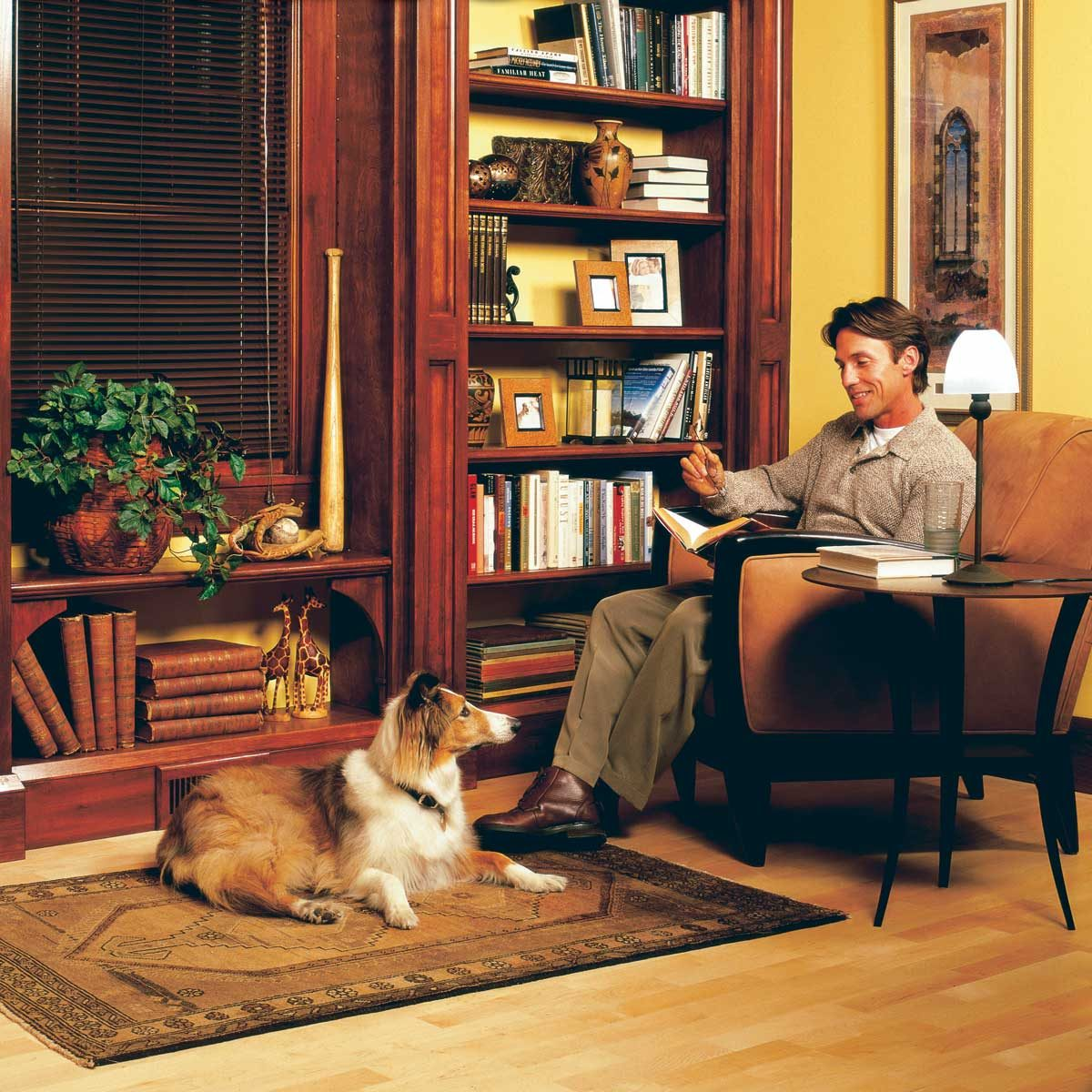 Window Seat Bookshelf How To Build A Built In Bookshelves The Family Handyman
