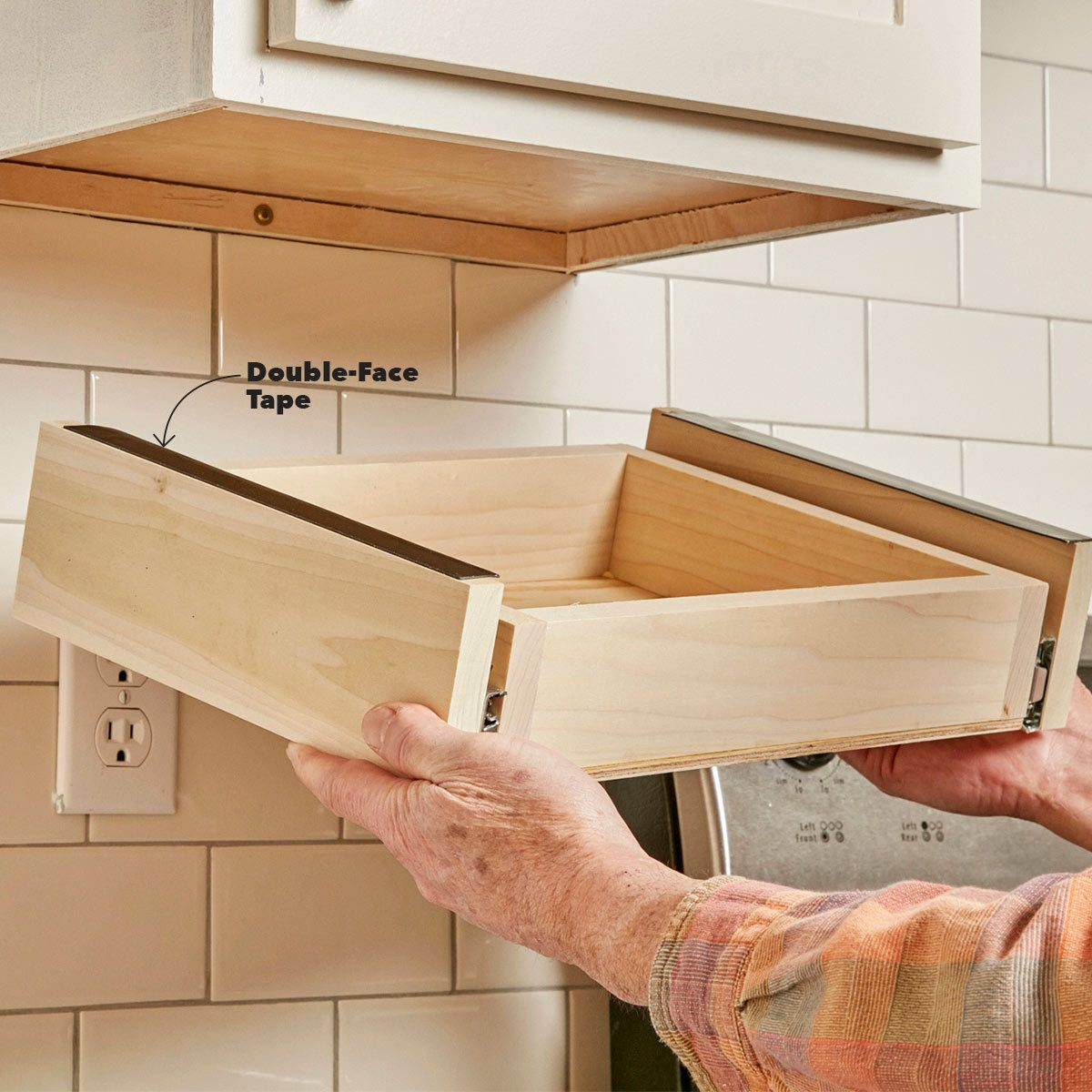In Cabinet Drawers How To Build An Under Cabinet Drawer The Family Handyman