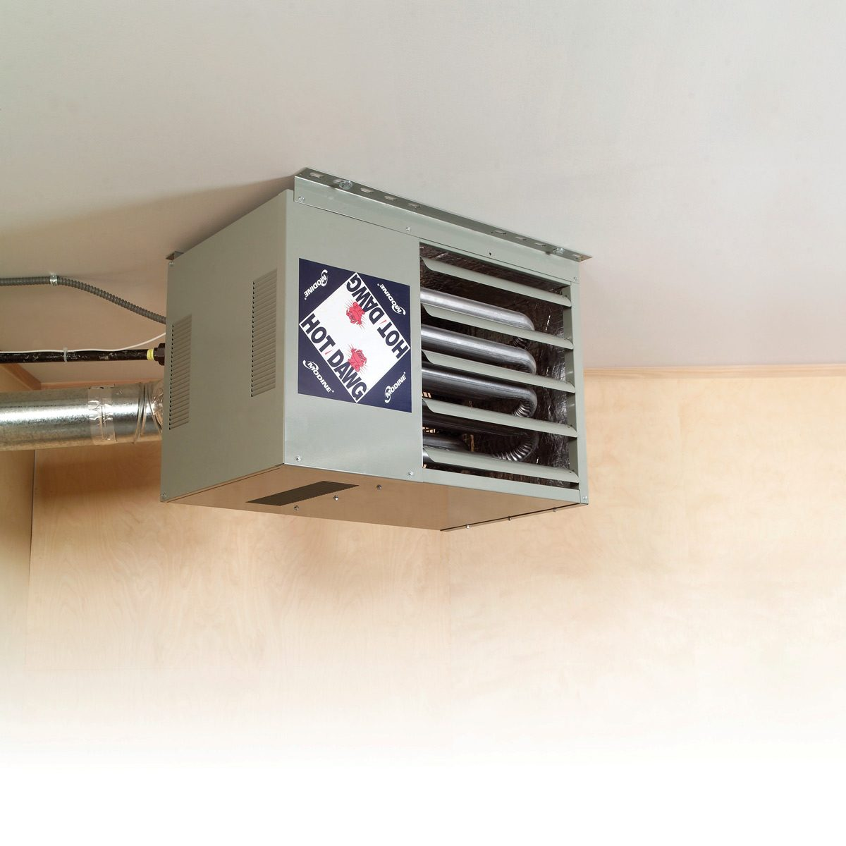 Garage Attic Air Conditioner 12 Best Ways To Heat A Garage In The Winter The Family Handyman