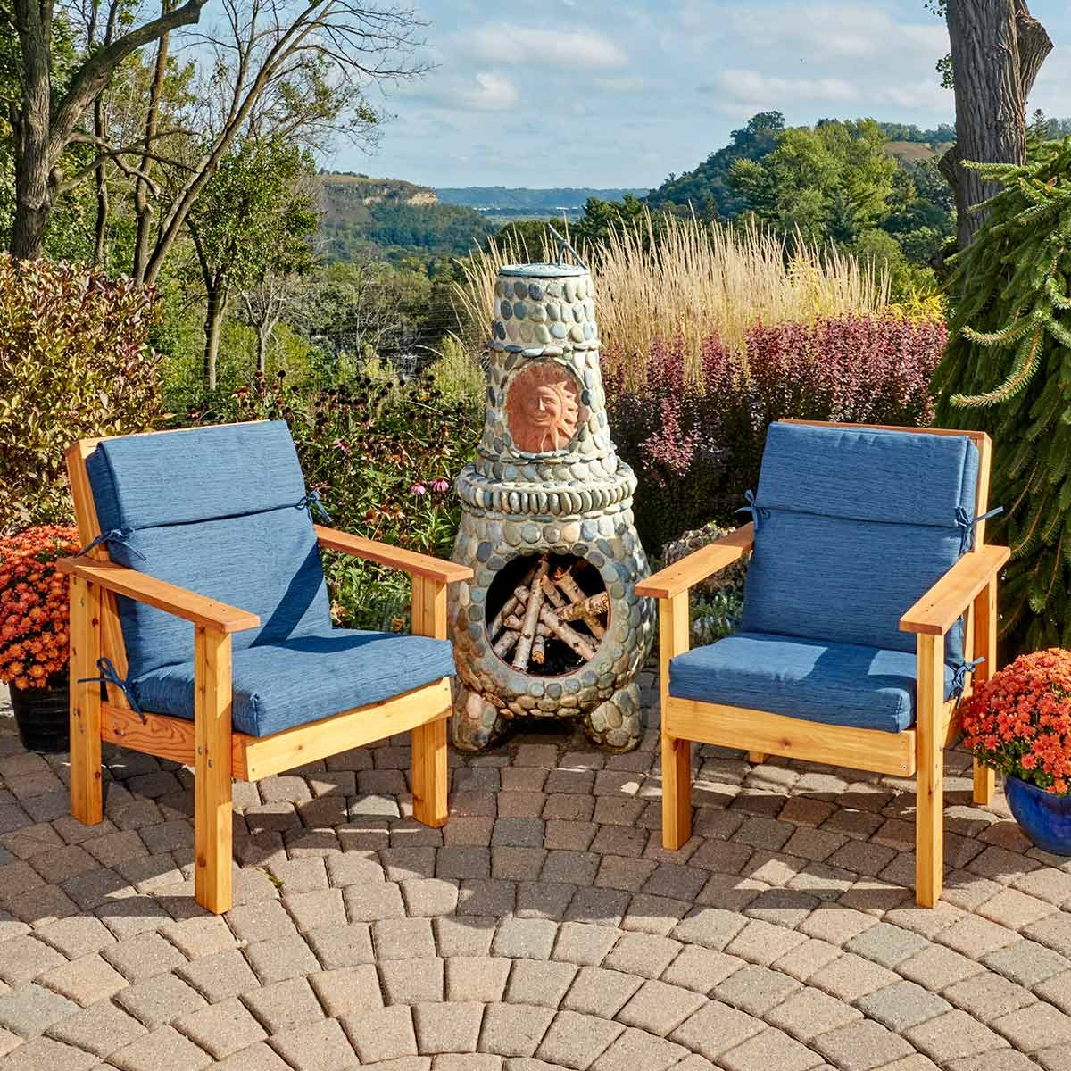 Patio Outdoor Perfect Patio Chairs You Can Make The Family Handyman