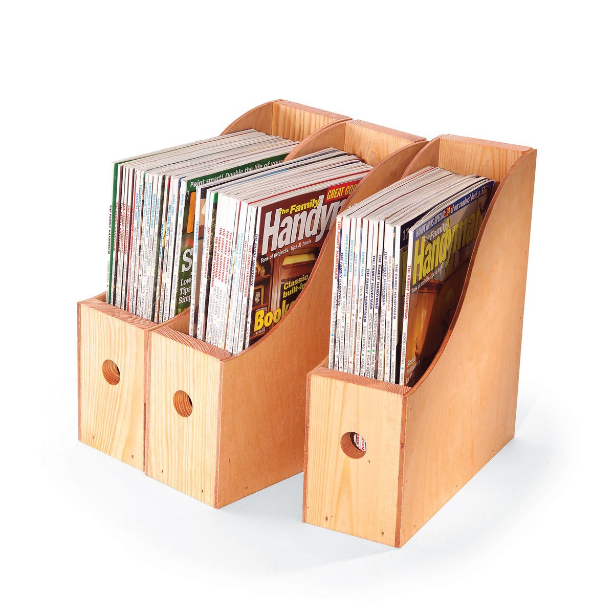 Magazin Container How To Make Magazine Storage Containers The Family Handyman