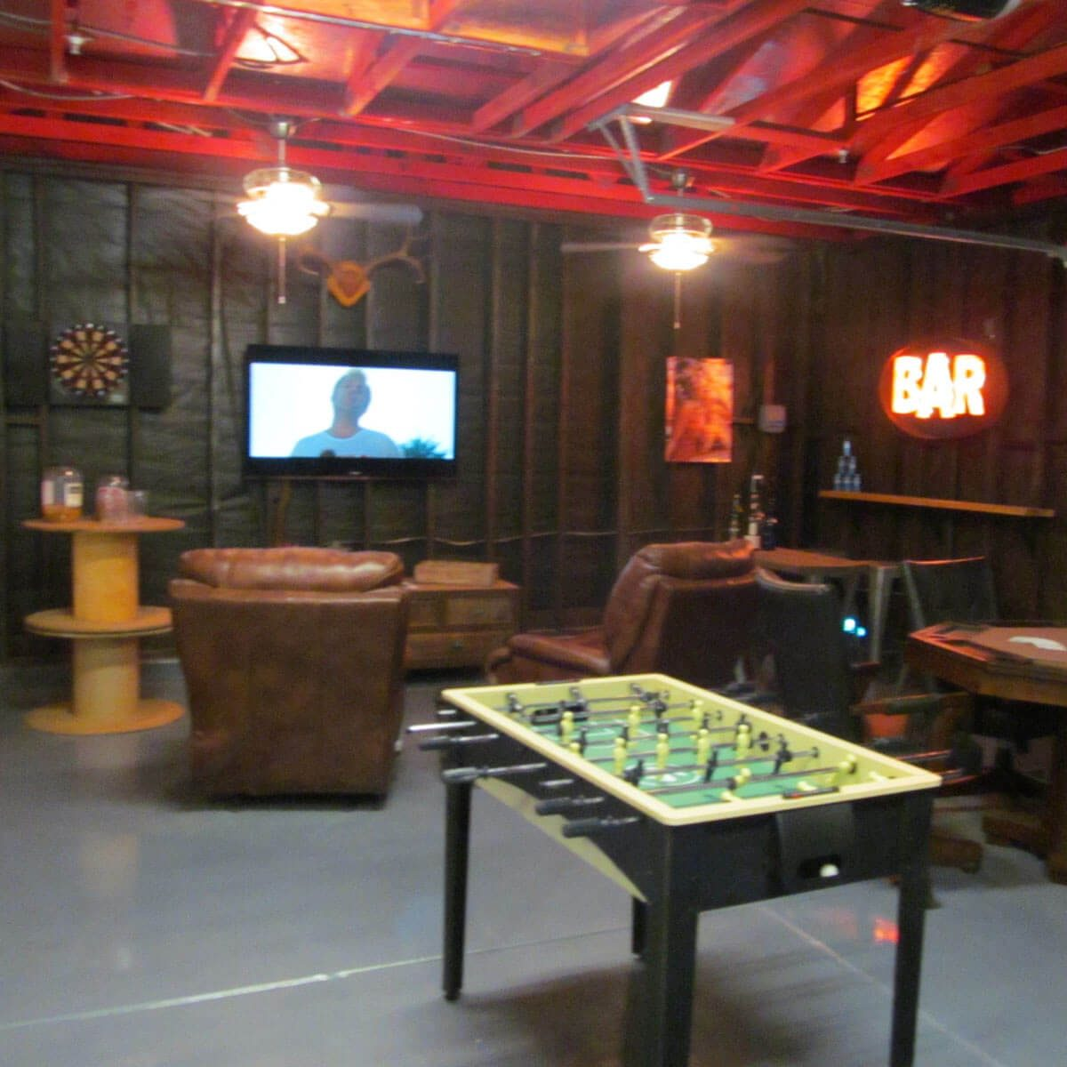 Garage Conversion Man Cave 15 Awesome Man Cave Spaces For Watching The Big Game Family Handyman