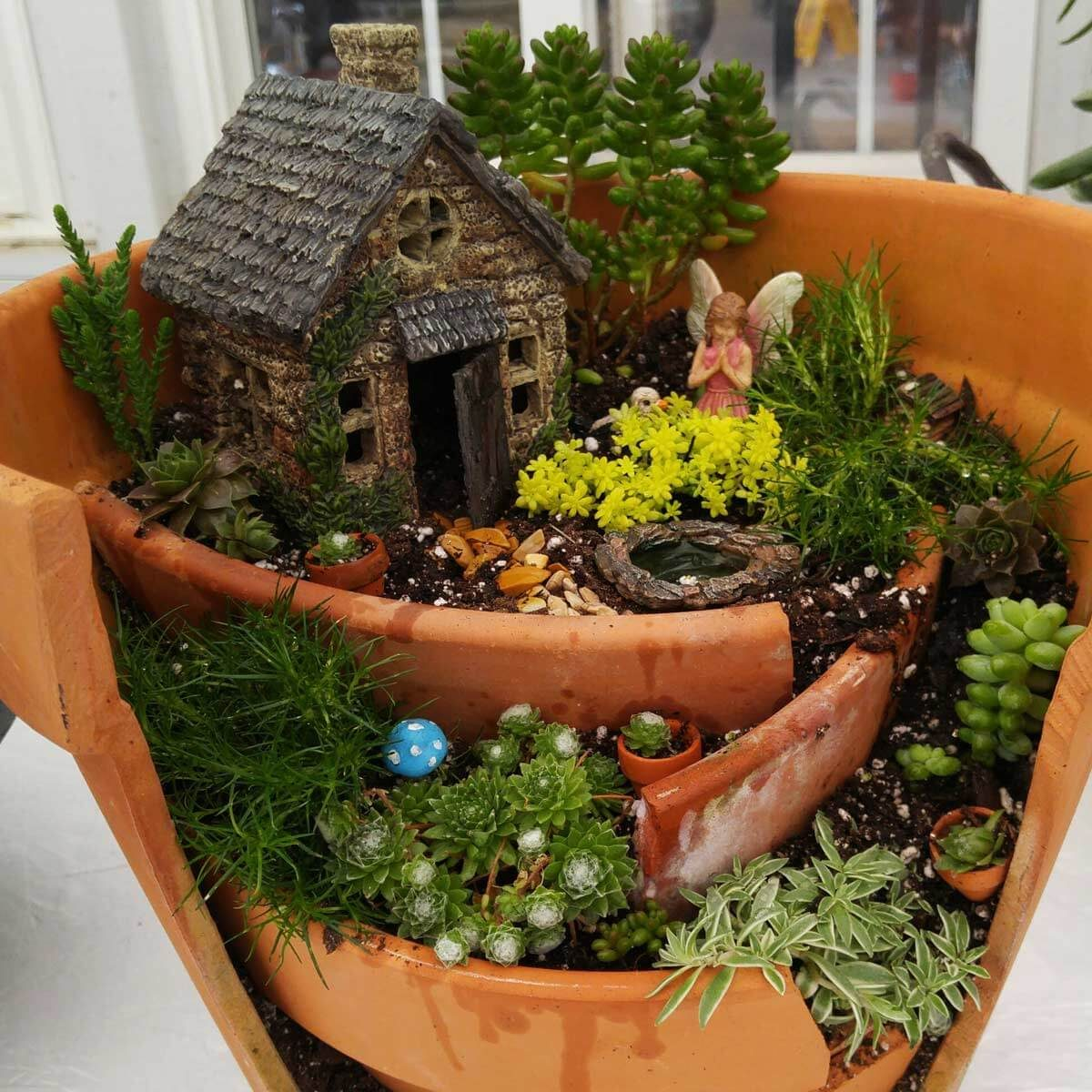 Unique Outdoor Flower Pots 15 Breathtaking Diy Fairy Gardens The Family Handyman