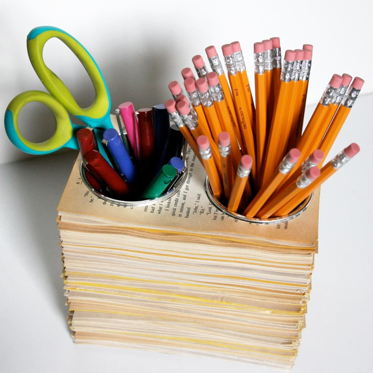 Homemade Pencil Holders 80 Old Items Fantastically Fit For Repurposing The Family Handyman