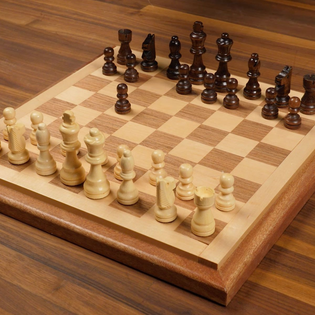Diy Wood Chess Board How To Build A Chessboard The Family Handyman