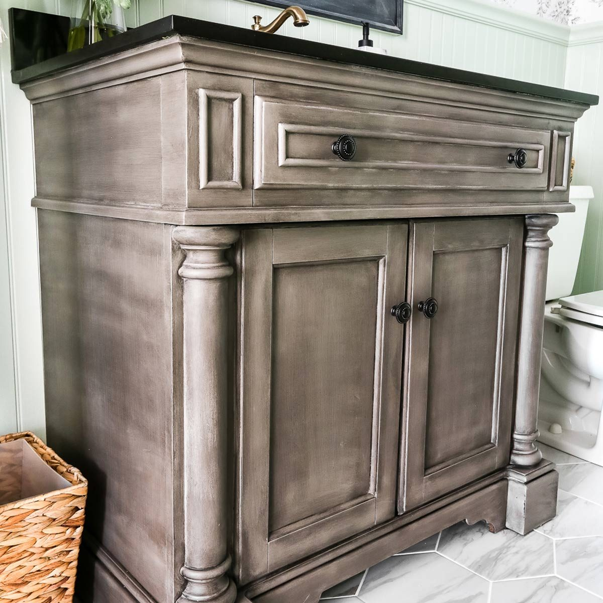How To Make A Bathroom Vanity Cabinet 12 Astonishing Diy Bathroom Vanity Makeovers The Family Handyman