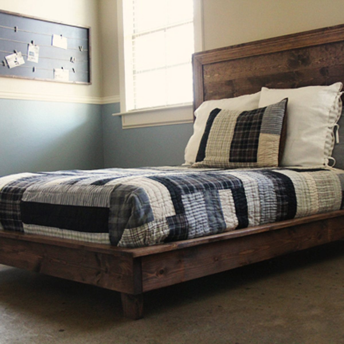 Cheap Wooden Bed Frames 10 Awesome Diy Platform Bed Designs The Family Handyman