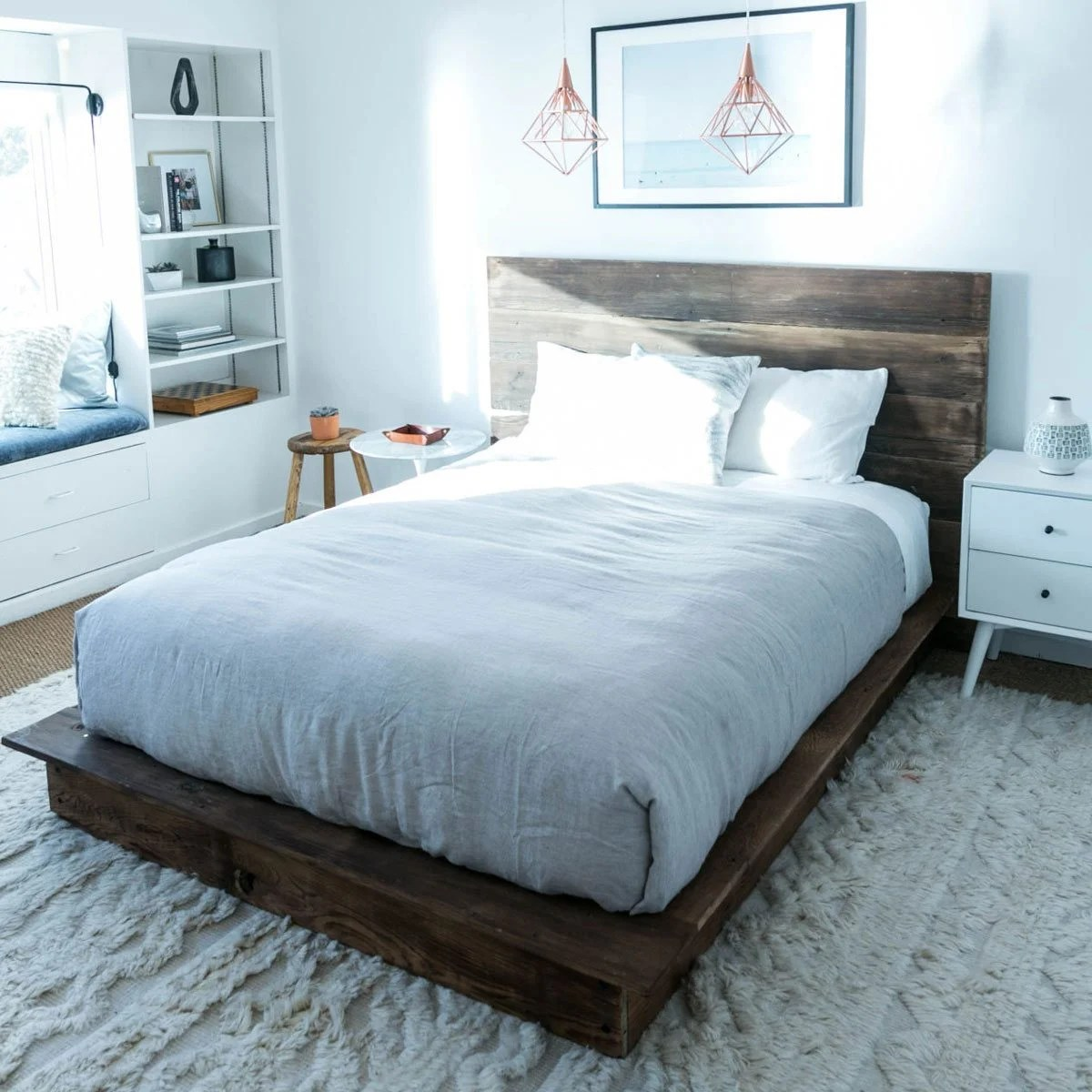 Small Super King Mattress 10 Awesome Diy Platform Bed Designs The Family Handyman