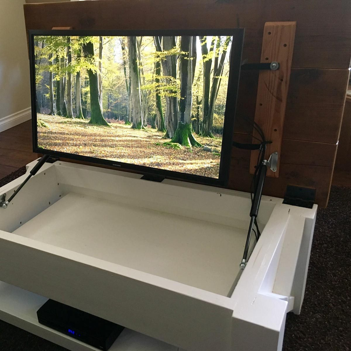 Tv Hidden In Coffee Table 10 Awesome Tv Installation Ideas The Family Handyman