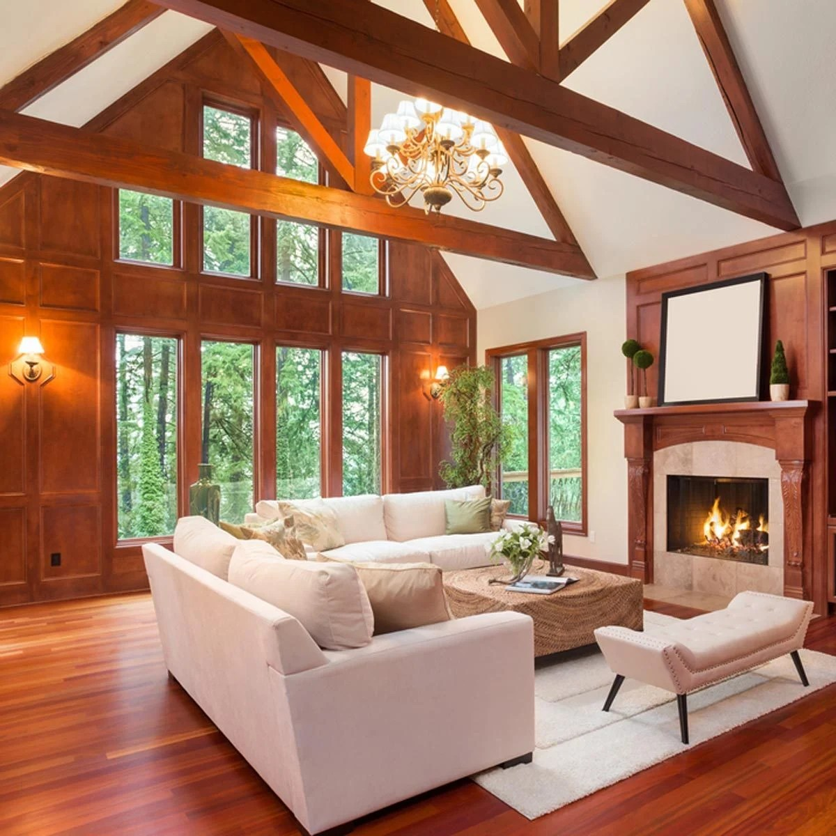 Painted Wood Ceilings 10 New Trends In Wood Trim For 2018 The Family Handyman