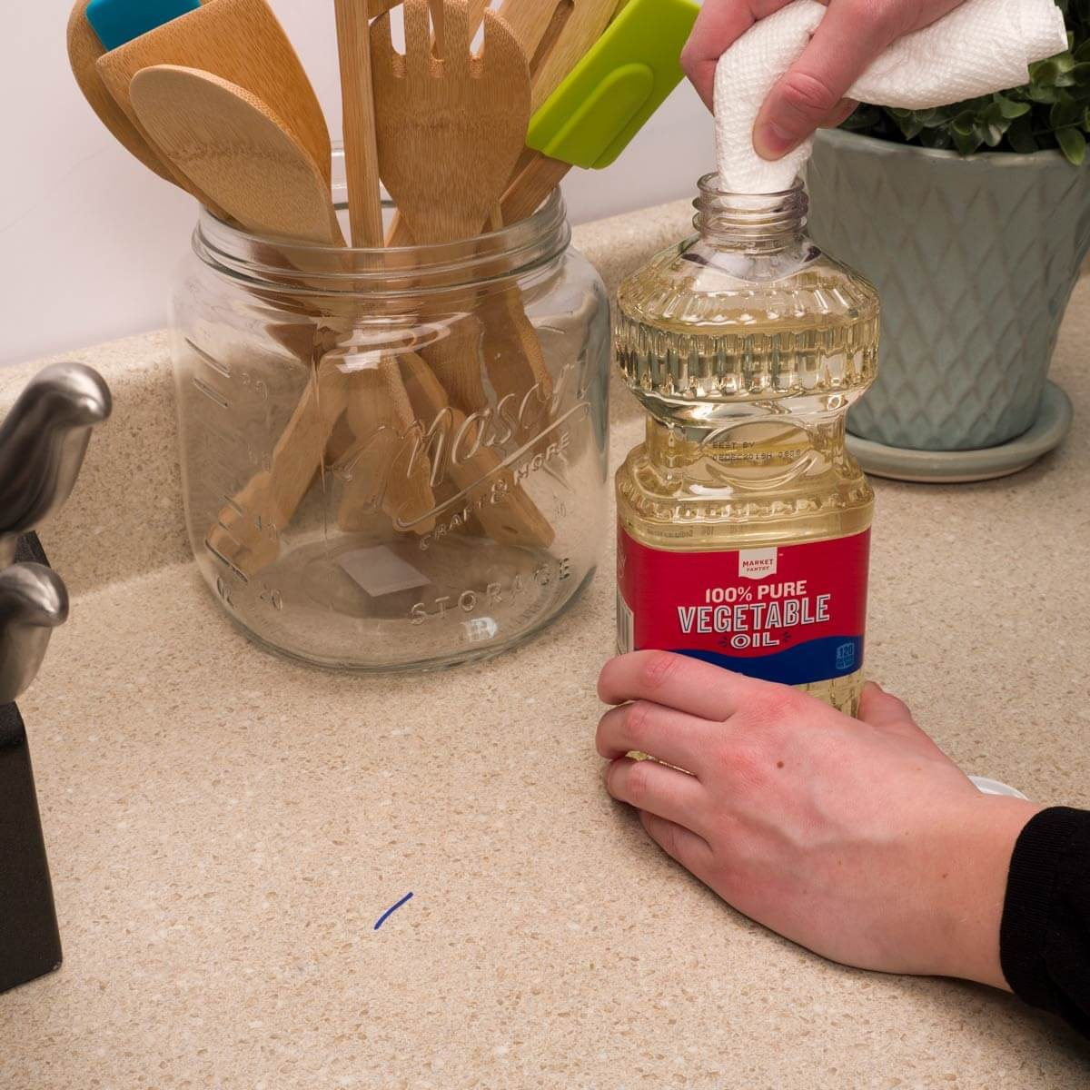 How To Remove Sharpie From Countertop How To Remove Permanent Marker On Laminate The Family Handyman