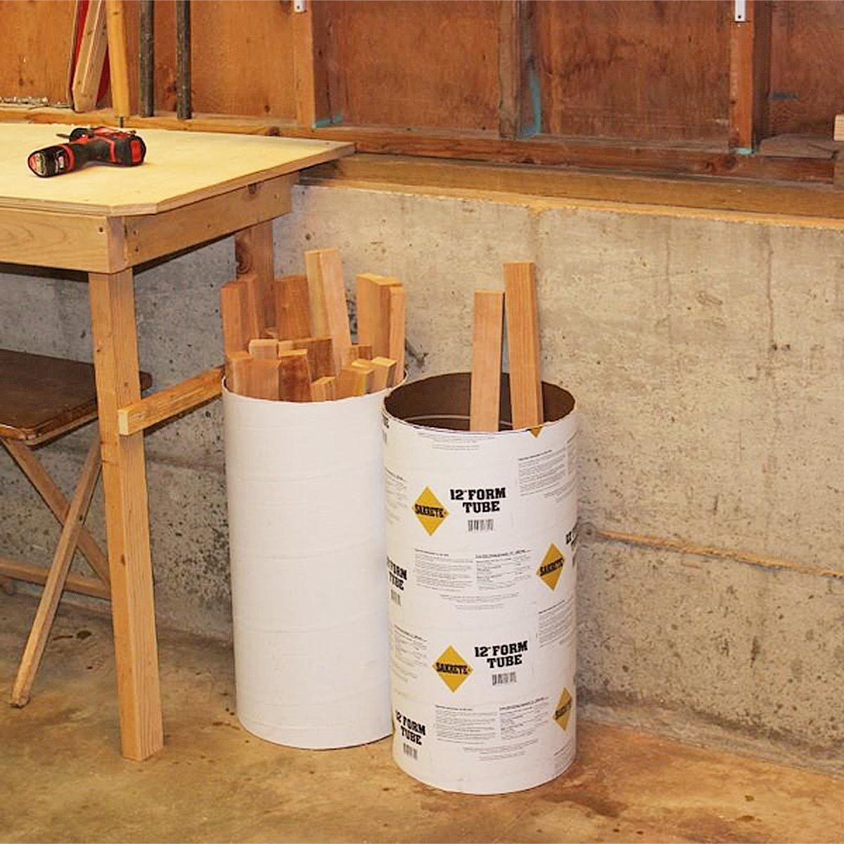 Concrete Tube Forms 56 Brilliant Woodworking Tips For Beginners The Family Handyman
