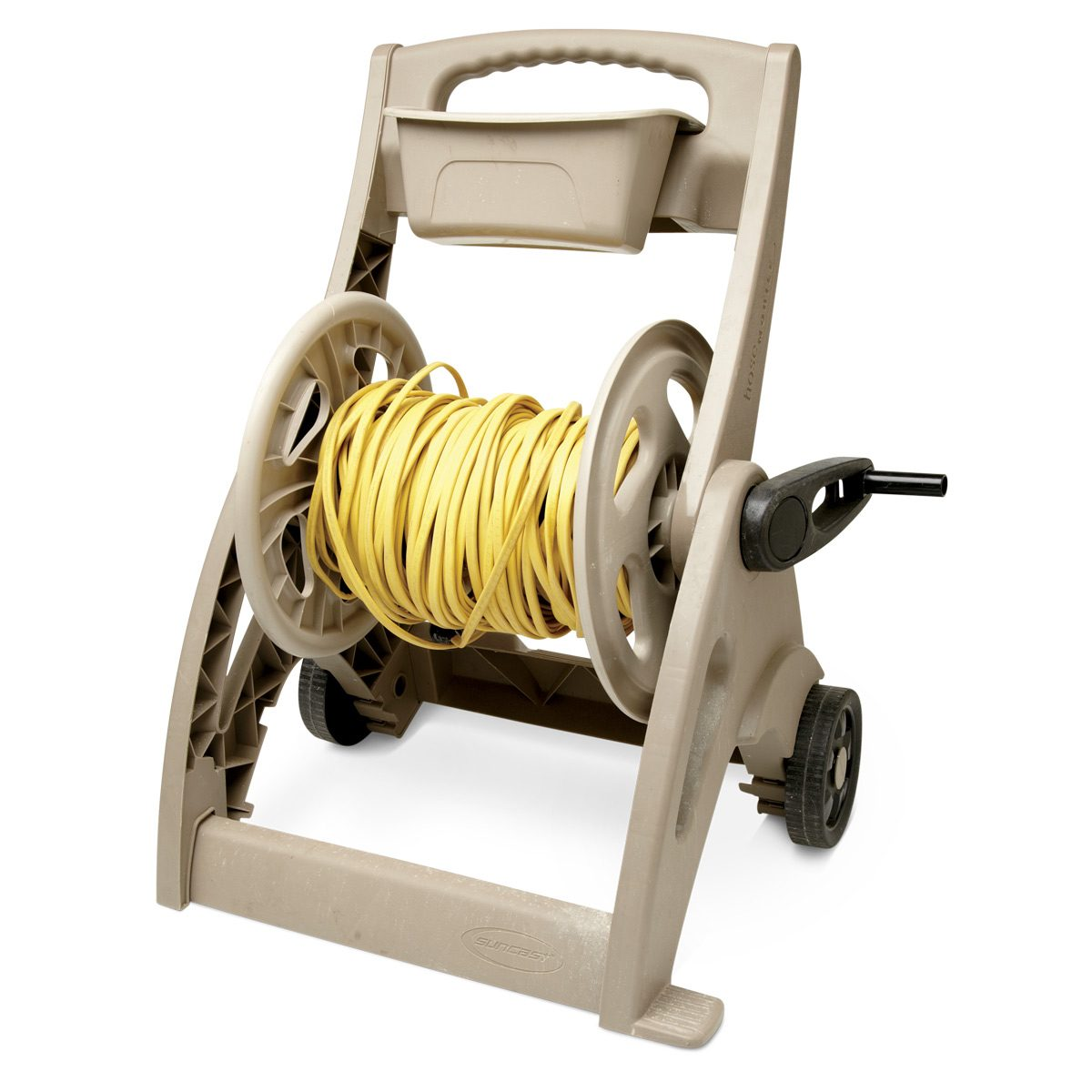 Garage Heater Extension Cord How To Use A Garden Hose Reel In Your Workshop The Family Handyman