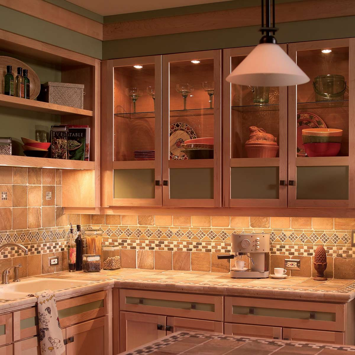 Under Cabinet Lighting In Kitchen How To Install Under Cabinet Lighting In Your Kitchen