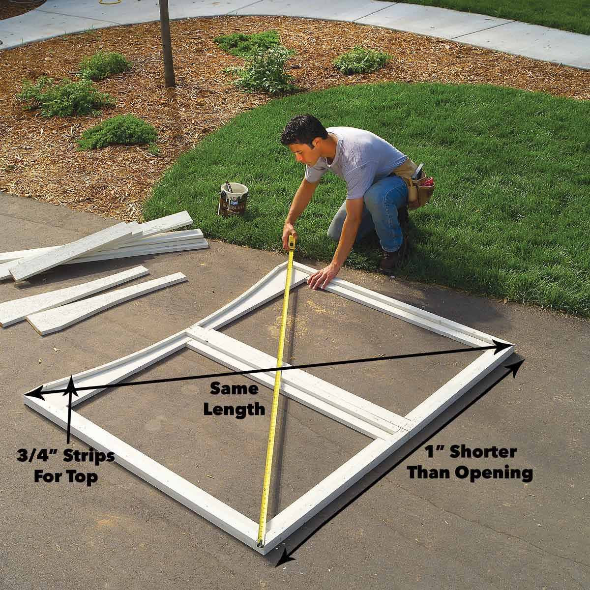 Diy Sliding Deck Gate Learn How To Construct A Custom Fence And How To Build A Gate