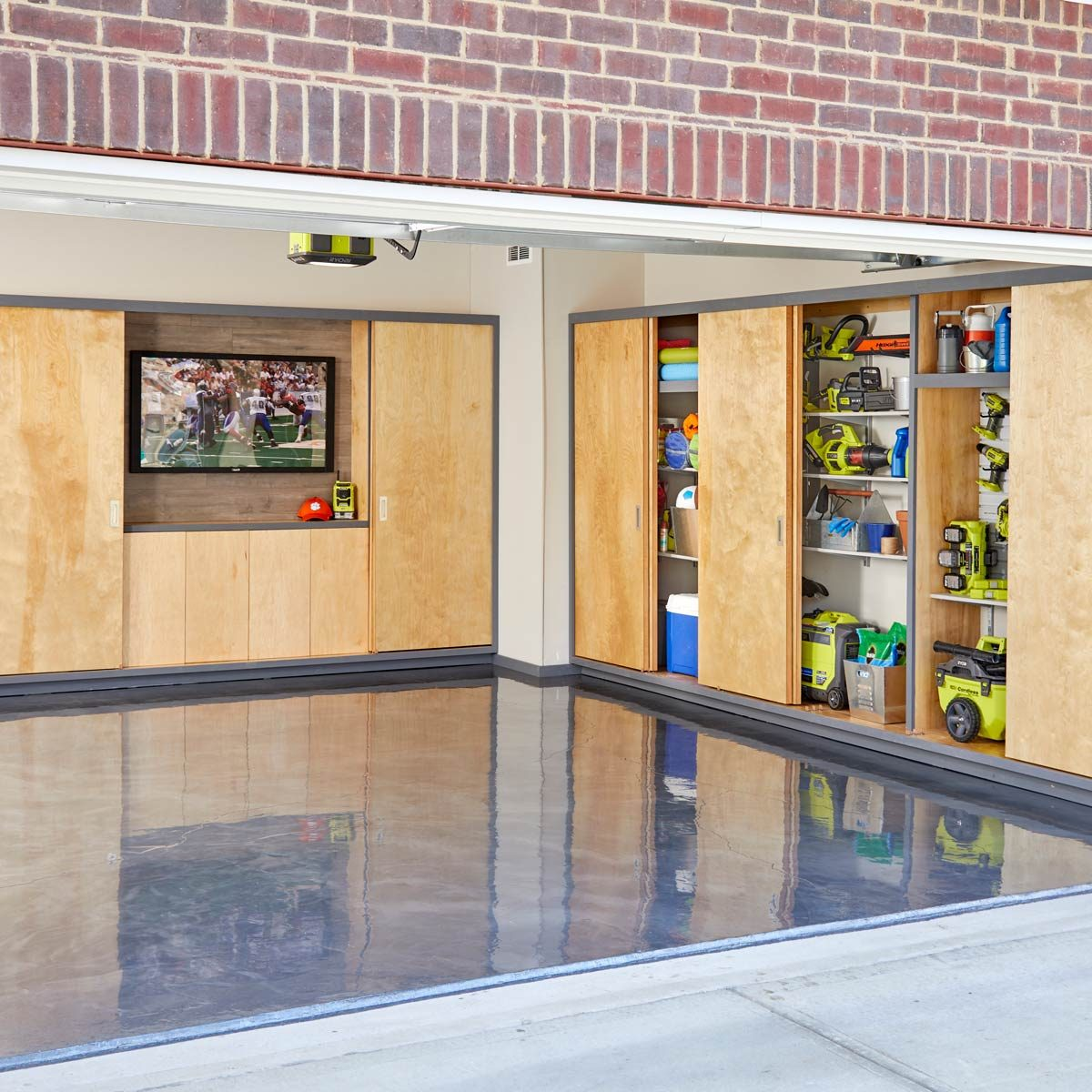 Ryobi Garage Door Fan How To Create The Garage Of Your Dreams The Family Handyman