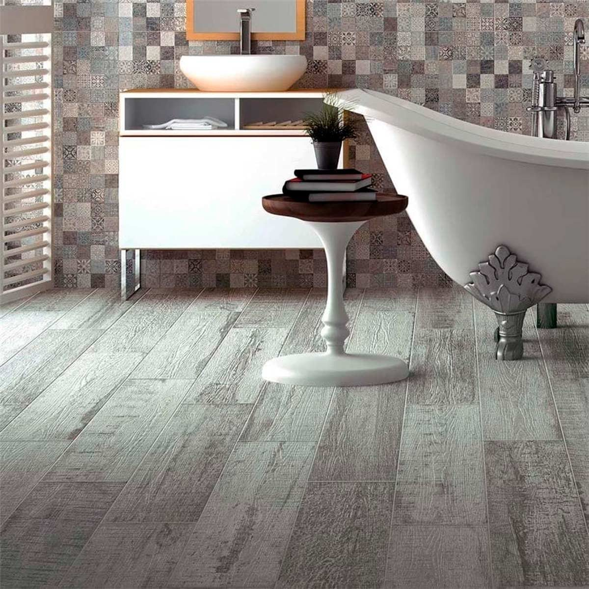 Wood Looking Tile Bathroom The Top 10 Flooring Trends For 2019 Family Handyman The Family