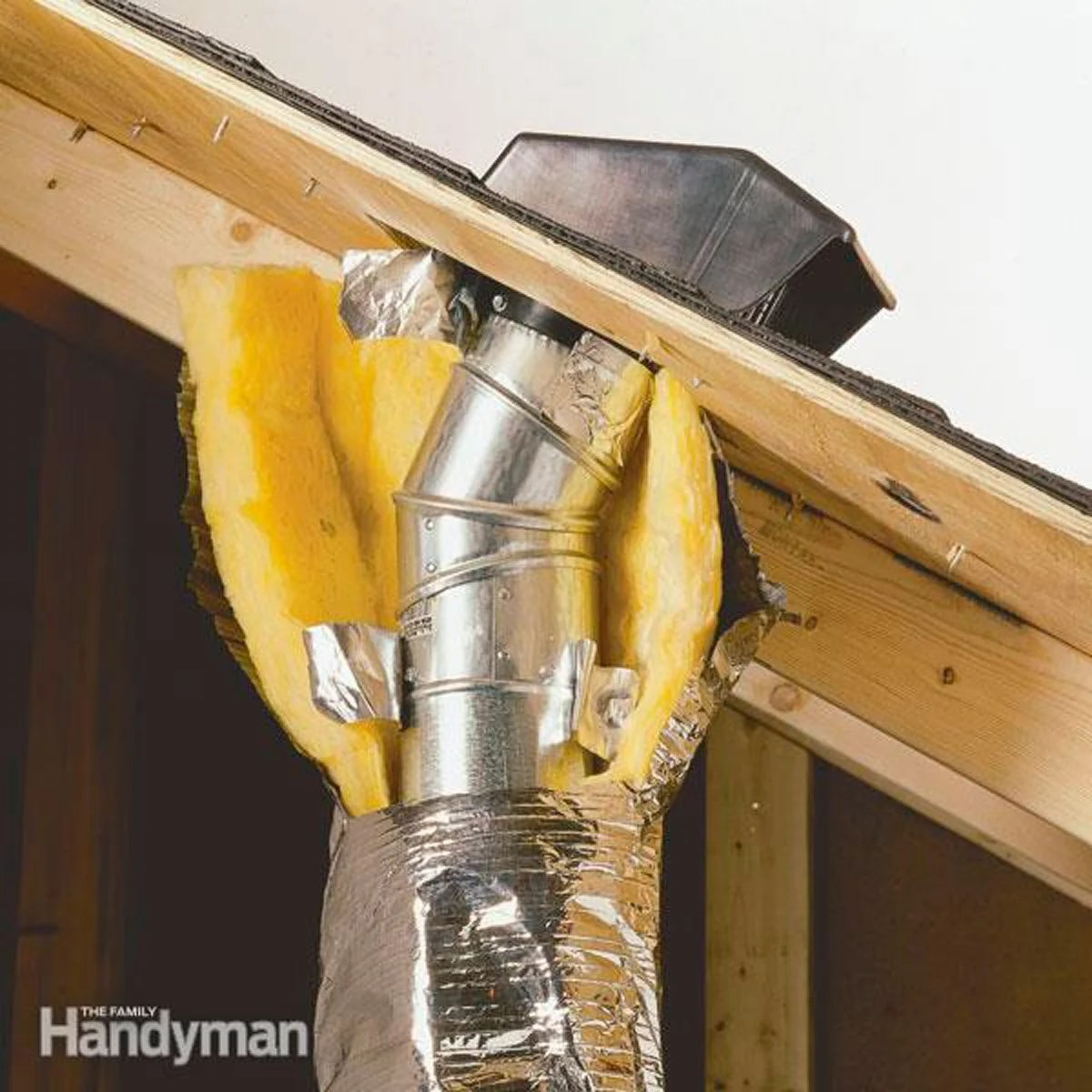 Venting Exhaust Fans Through The Roof Diy Family Handyman