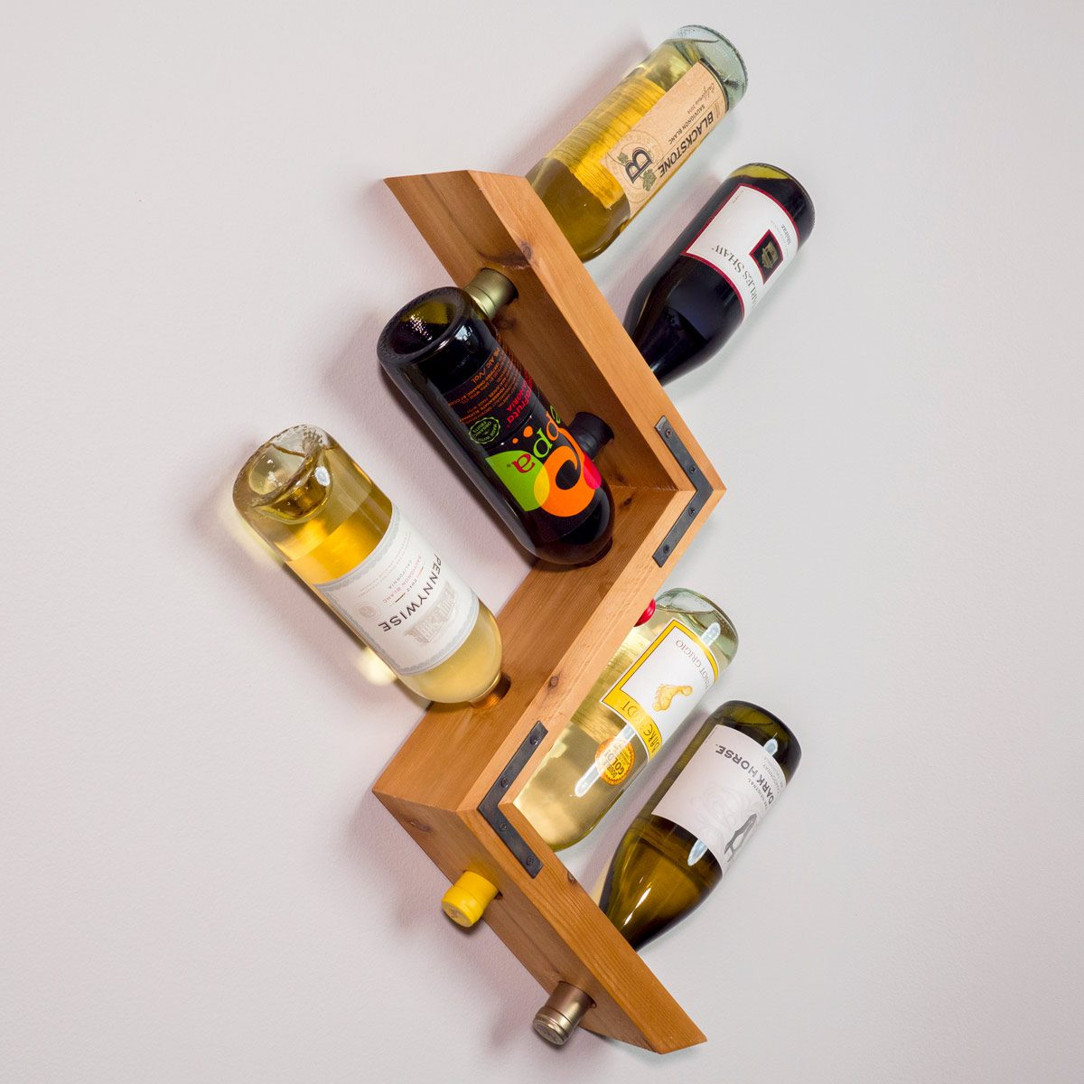 Pretty Wine Racks Saturday Morning Workshop How To Build A Wall Mounted Wine Rack