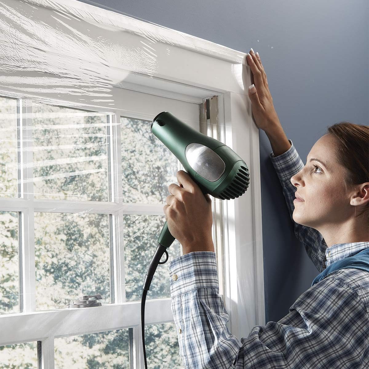 This Is The Best Way To Winterize Windows Family Handyman - Window Plastic Insulation