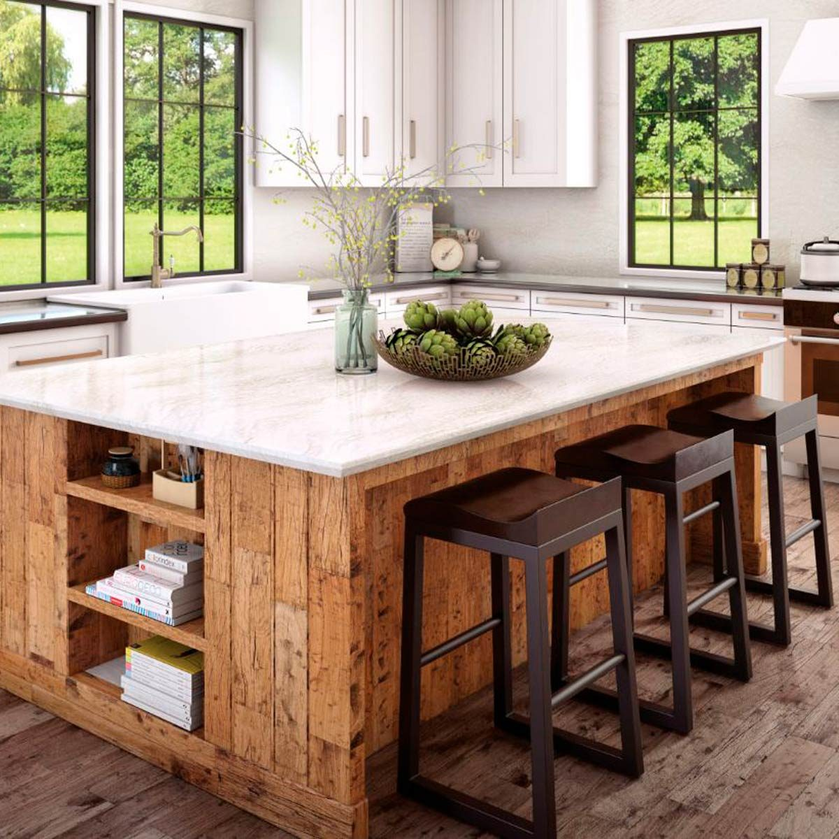 How To Clean Quartz Countertops Family Handyman
