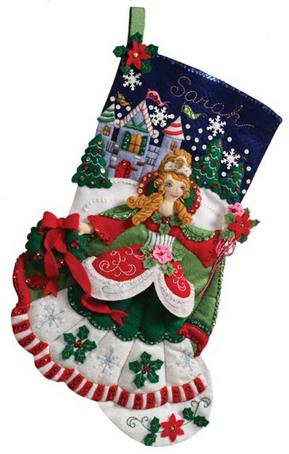 What To Put On Fireplace Mantel Elegant Christmas Stocking - Family Holiday.net/guide To