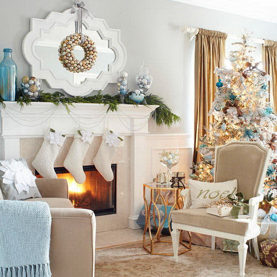 Wohnzimmer Modern Country 60 Elegant Christmas Country Living Room Decor Ideas