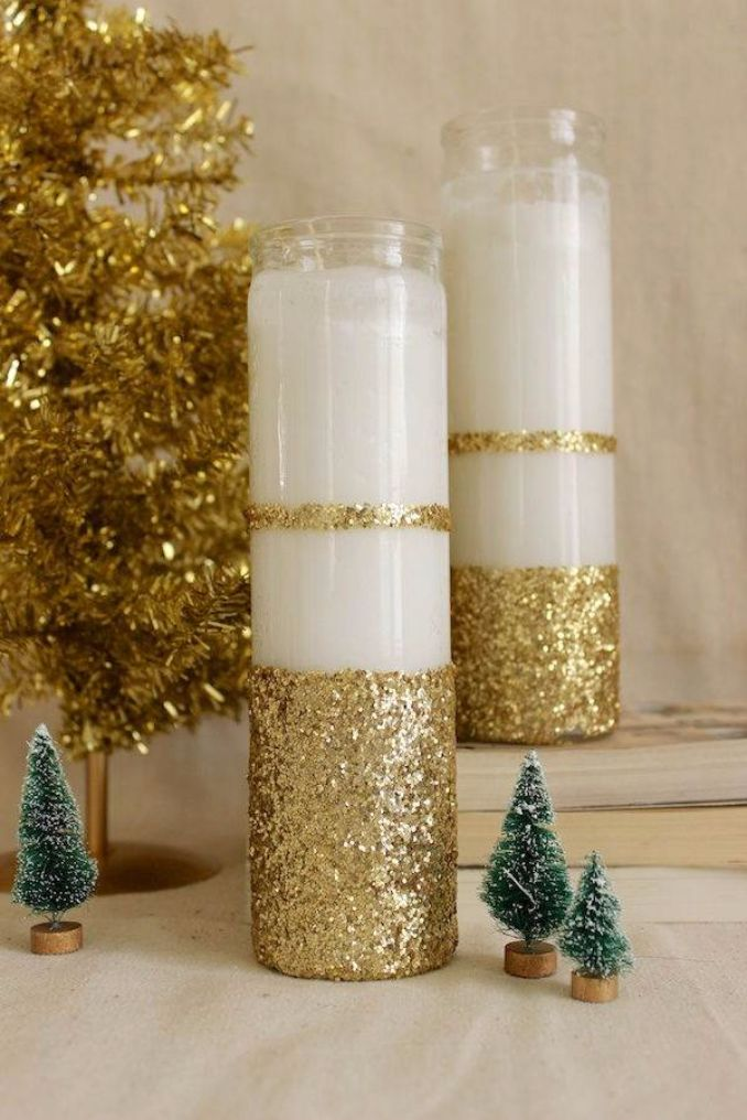 Decoration Nice 27 Amazing Handmade Candle Decoration Diy Ideas - Family