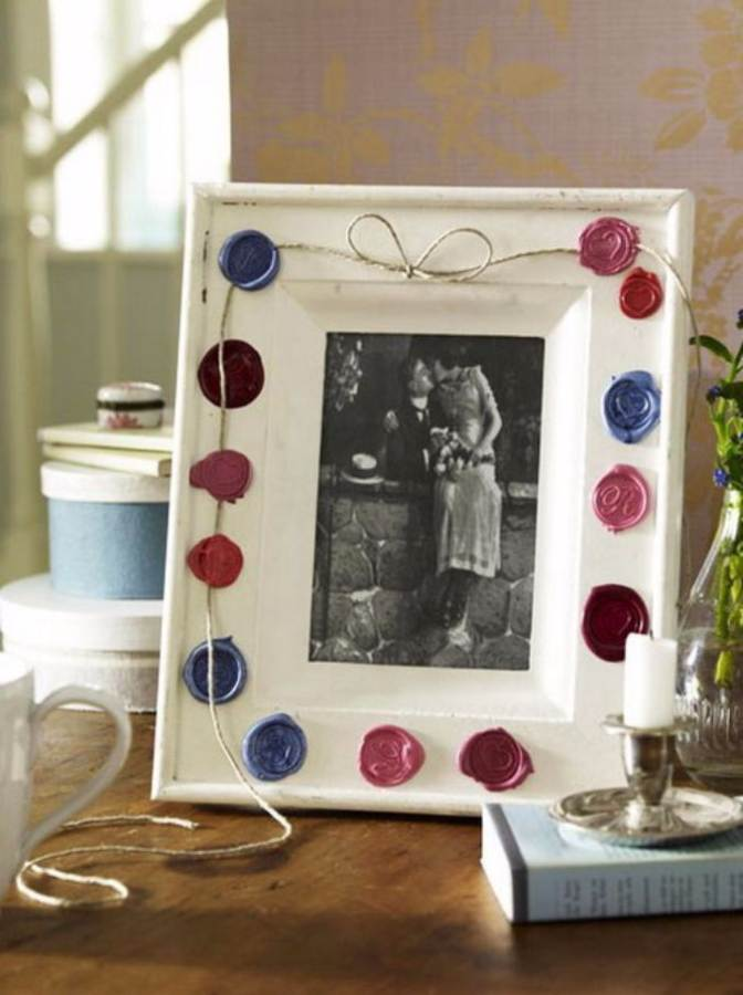 Ausgefallene Dekoideen Easy Diy Photo And Picture Frame Decorating Crafts